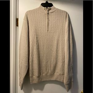 New Tres Bien men's pullover sweater medium